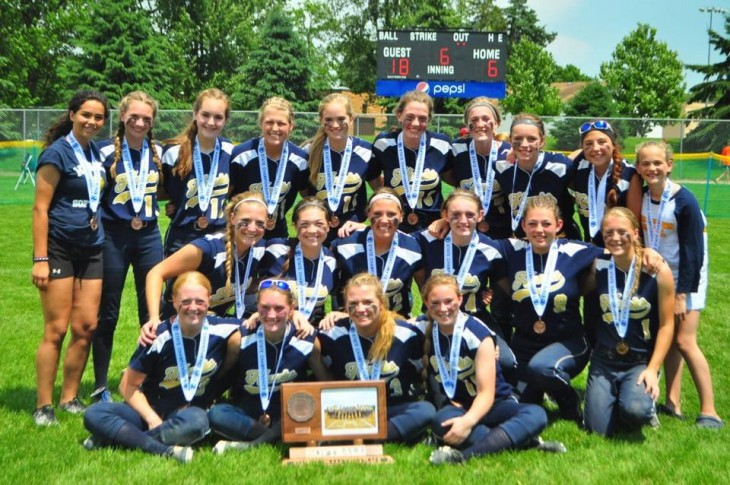 Hawks Take Third in State