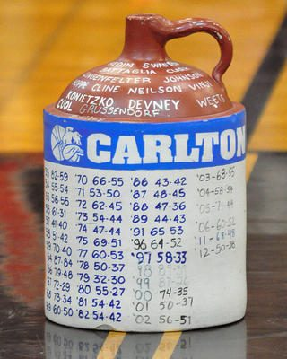 little brown jug--carlton side