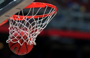 GLENDALE, AZ - APRIL 03: The ball goes through the hoop during warm ups before the game between the North Carolina Tar Heels and the Gonzaga Bulldogs during the 2017 NCAA Men's Final Four National Championship game at University of Phoenix Stadium on April 3, 2017 in Glendale, Arizona.  (Photo by Ronald Martinez/Getty Images)